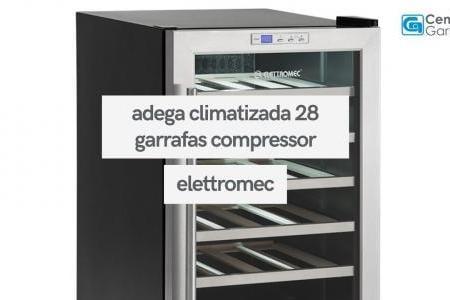 Adega Climatizada 28 Garrafas Compressor | Elettromec