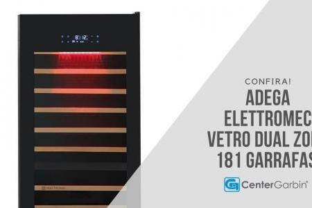 Adega Vetro 181 Garrafas | Elettromec