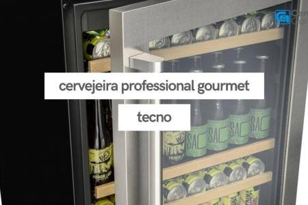 Cervejeira Professional Gourmet 136 Litros | Tecno