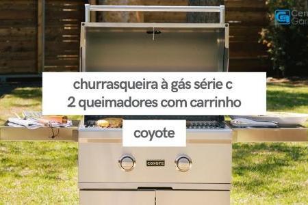 Churrasqueira à Gás Série C 2 Queimadores C1C28LP-FS | Coyote