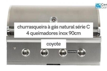 Churrasqueira à Gás Série C 4 Queimadores C2C36NG    Coyote