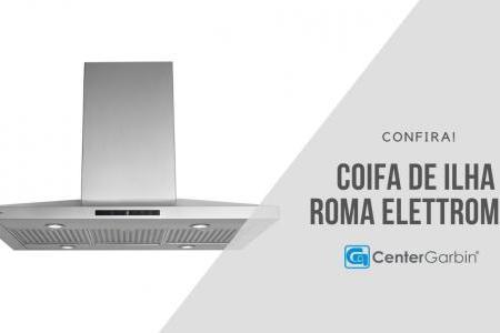 Coifa de Ilha Roma | Elettromec