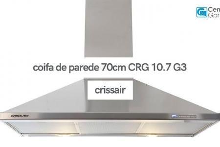 Coifa de Parede CRG 10.7 G3 Parede 70cm | Crissair