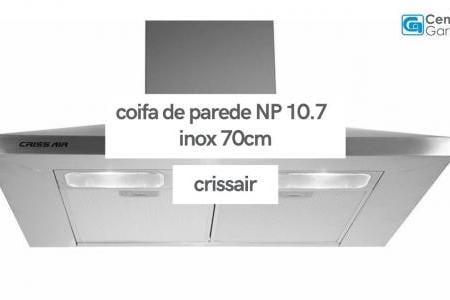 Coifa de Parede NP 10.7 Inox 70cm | Crissair