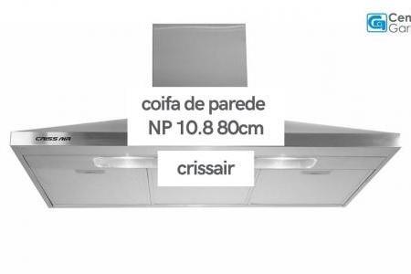 Coifa de Parede NP 10.8 80cm   Crissair