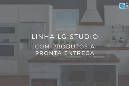 Confira os produtos LG Studio a pronta entrega