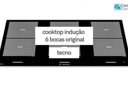 Cooktop Indução Original 6 Bocas | Tecno