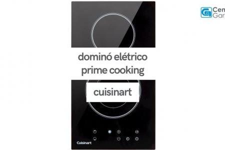 Dominó Elétrico Prime Cooking 2 Queimadores | Cuisinart