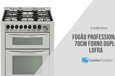 Fogão Professional 70cm Forno Duplo   Lofra