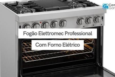 Fogão Professional com Forno Elétrico   Elettromec