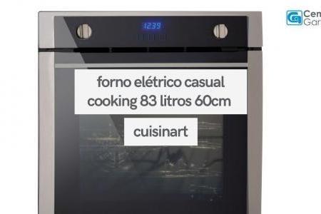 Forno Elétrico Casual Cooking 83 Litros | Cuisinart