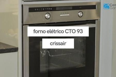 Forno Elétrico CTO 93 | Crissair