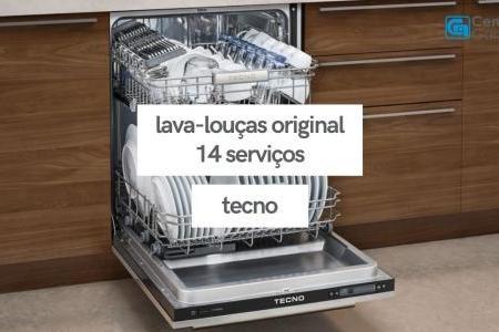 Lava-Louças de Embutir 14 Serviços | Tecno