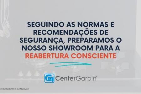 Reabertura do showroom   CENTER GARBIN