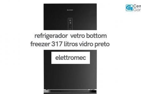 Refrigerador Vetro Bottom Freezer 317 Litros | Elettromec
