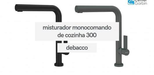 Misturador Monocomando de Cozinha 300   DeBacco