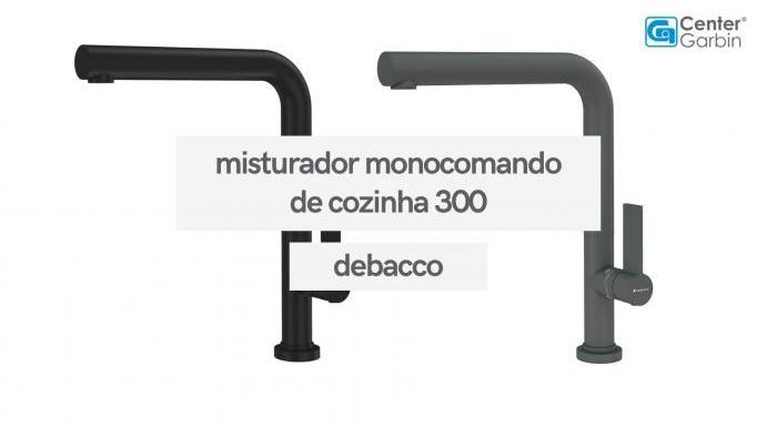 Misturador Monocomando de Cozinha 300 | DeBacco