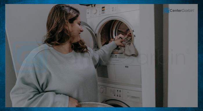 O que é uma lavadora e secadora acoplada?