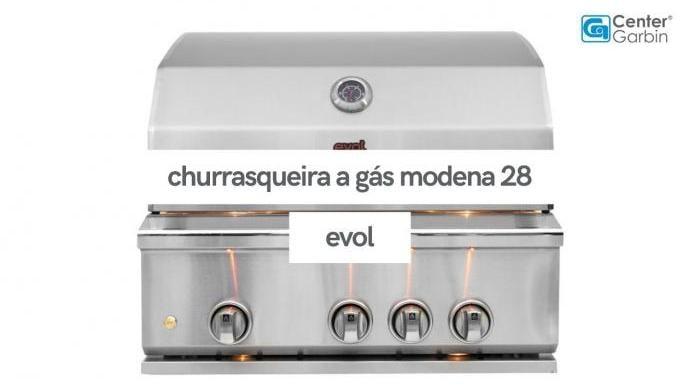 Churrasqueira a Gás Modena 28   Evol
