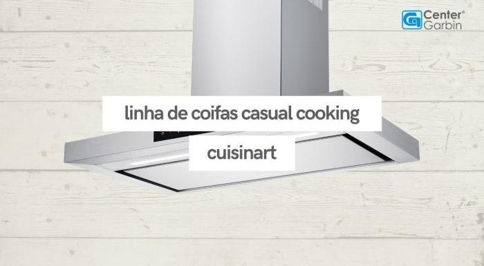 Coifa de ilha e parede Casual Cooking   Cuisinart