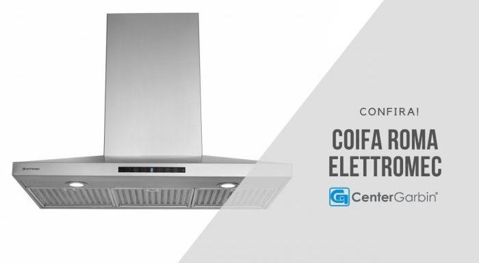 Coifa Roma | Elettromec