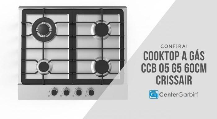 Cooktop a Gás CCB 05 G5   Crissair
