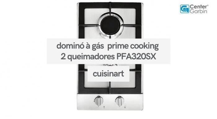 Cooktop Dominó à Gás Prime Cooking 2 Queimadores | Cuisinart
