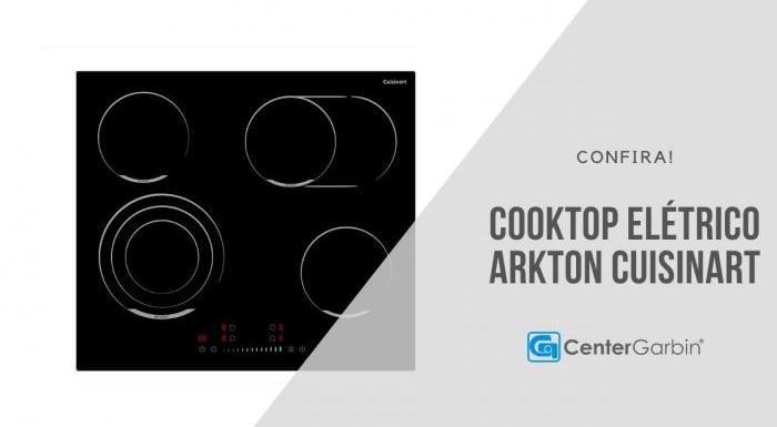 Cooktop Elétrico Arkton | Cuisinart