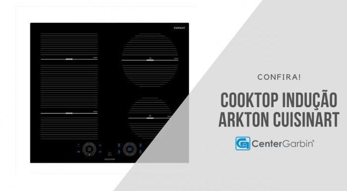 Cooktop Indução Arkton   Cuisinart