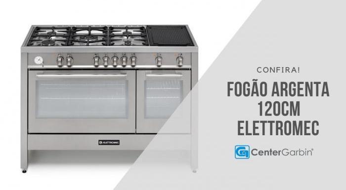 Fogão Argenta 120cm | Elettromec