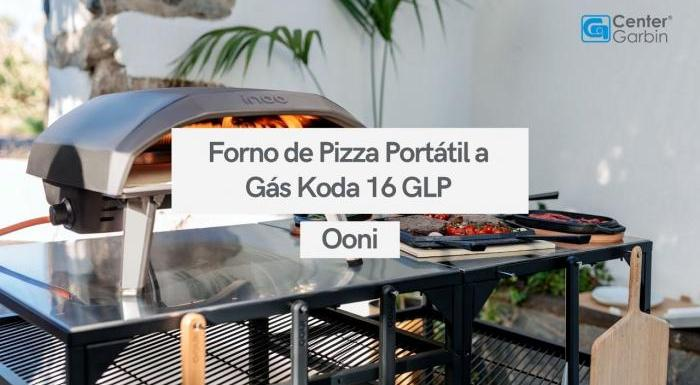 Forno de Pizza Portátil a Gás Koda 16 GLP |  Ooni