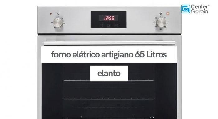 Forno Elétrico Artigiano 65 Litros | Elanto