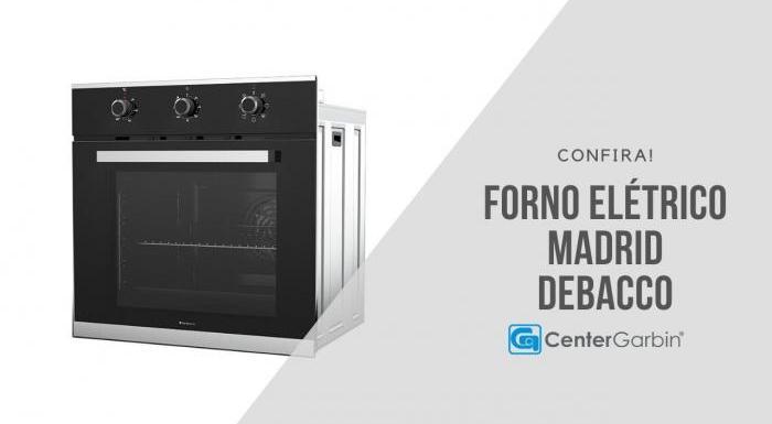 Forno Elétrico Madrid | Debacco
