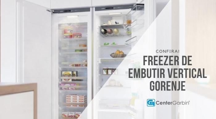 Freezer Vertical de Embutir | Gorenje