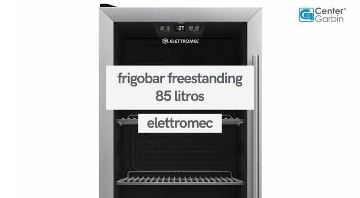 Frigobar Freestanding 85 Litros Abertura para Esquerda   Elettromec