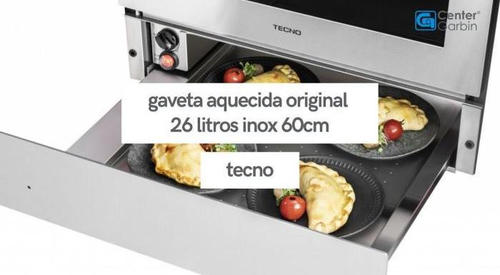 Gaveta Aquecida Original 26 Litros | Tecno