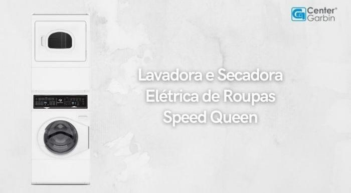 Lavadora Conjugada Branca Speed Queen