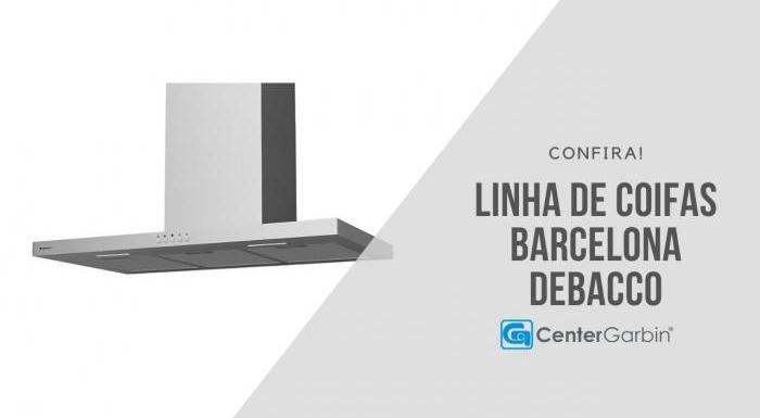 Linha de Coifas Barcelona | Debacco