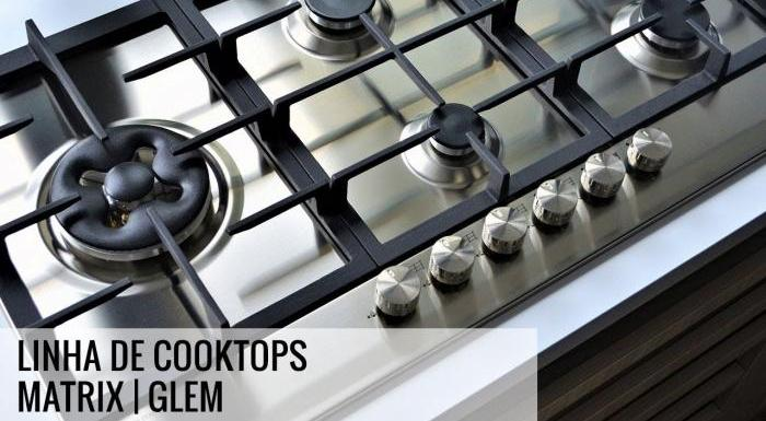 Linha de Cooktops Matrix | Glem