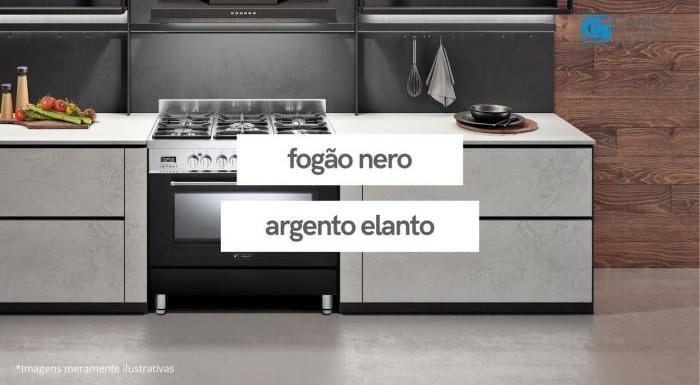 Linha de Fogões Nero Argento | Elanto