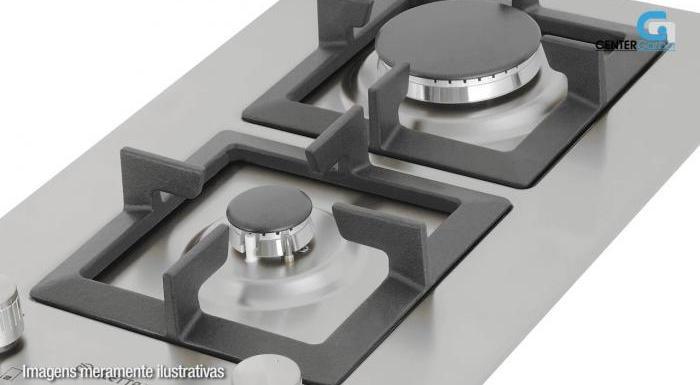 Dominó a Gás 2 Queimadores D301-Z2XQ - Elettromec