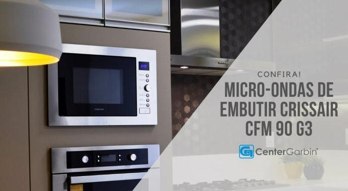 Micro-ondas de Embutir CFM 90 G3 | Crissair