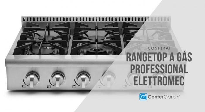 Rangetop a Gás Professional | Elettromec