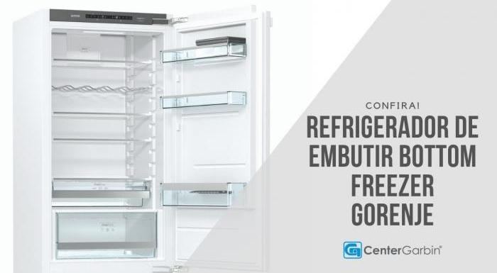 Refrigerador Nature Fresh Bottom Freezer | Gorenje