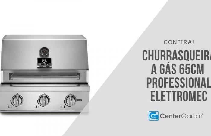 Churrasqueira a Gás Professional 65cm | Elettromec