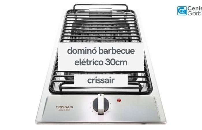 Dominó Barbecue Elétrico Inox 30cm 220V | Crissair