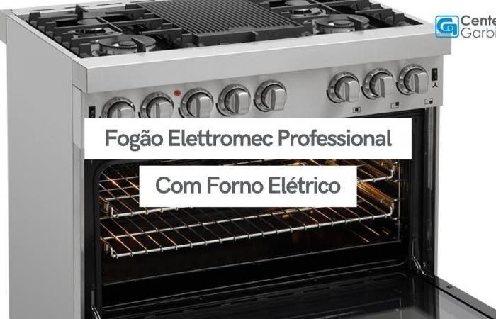 Fogão Professional com Forno Elétrico | Elettromec