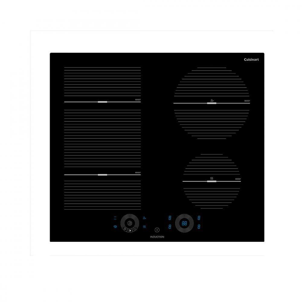Cooktop Elétrico Indução Cuisinart Arkton 4 Queimadores 59cm 220V - 4093860004