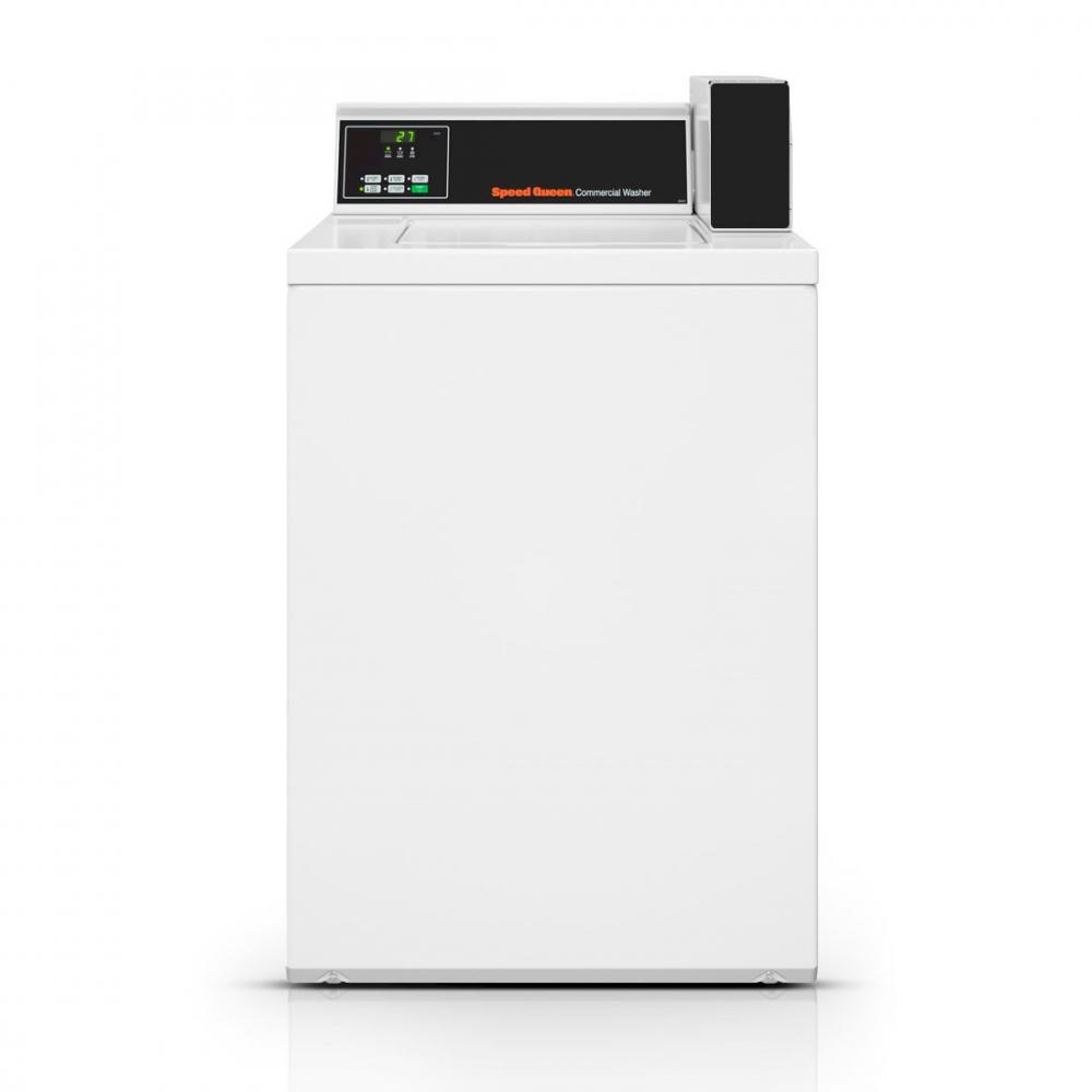 Lavadora Comercial Speed Queen de Carga Superior Quantum 7,5 Kg Branca sem Cofre e Ficheiro - SWNNX2SP