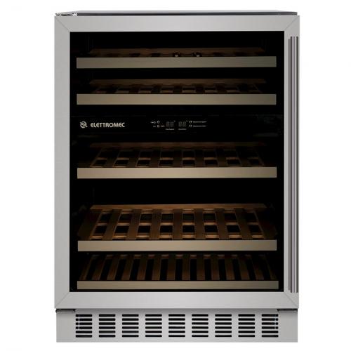 Adega de Vinhos Elettromec 45 Garrafas Compressor Dual Zone